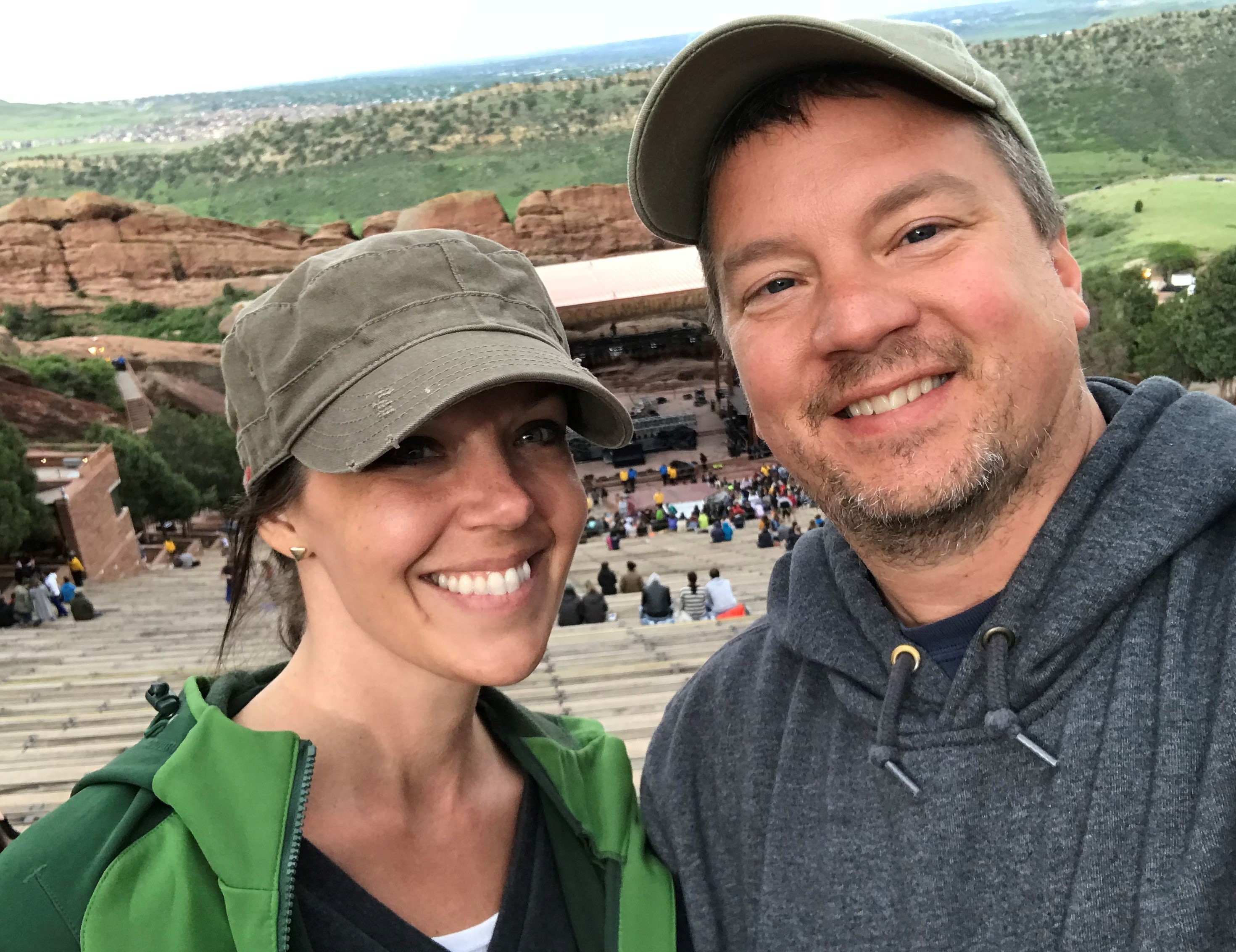 Steve and Corey Red Rocks